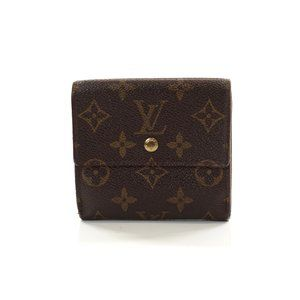 Auth Louis Vuitton Porte Monnaie Carte #7045L59